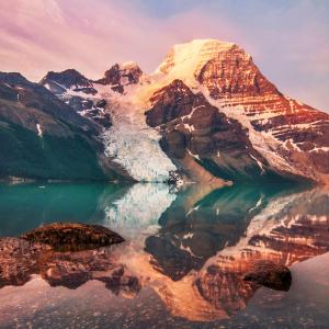 Berg Lake, Mount Robson Provincial Park, B.C.