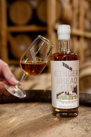 Toronto day trips | Gingerbread Gin at Willibald Farm Distillery & Brewery in Ayr