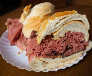 Mortadella sandwich Sao Paulo