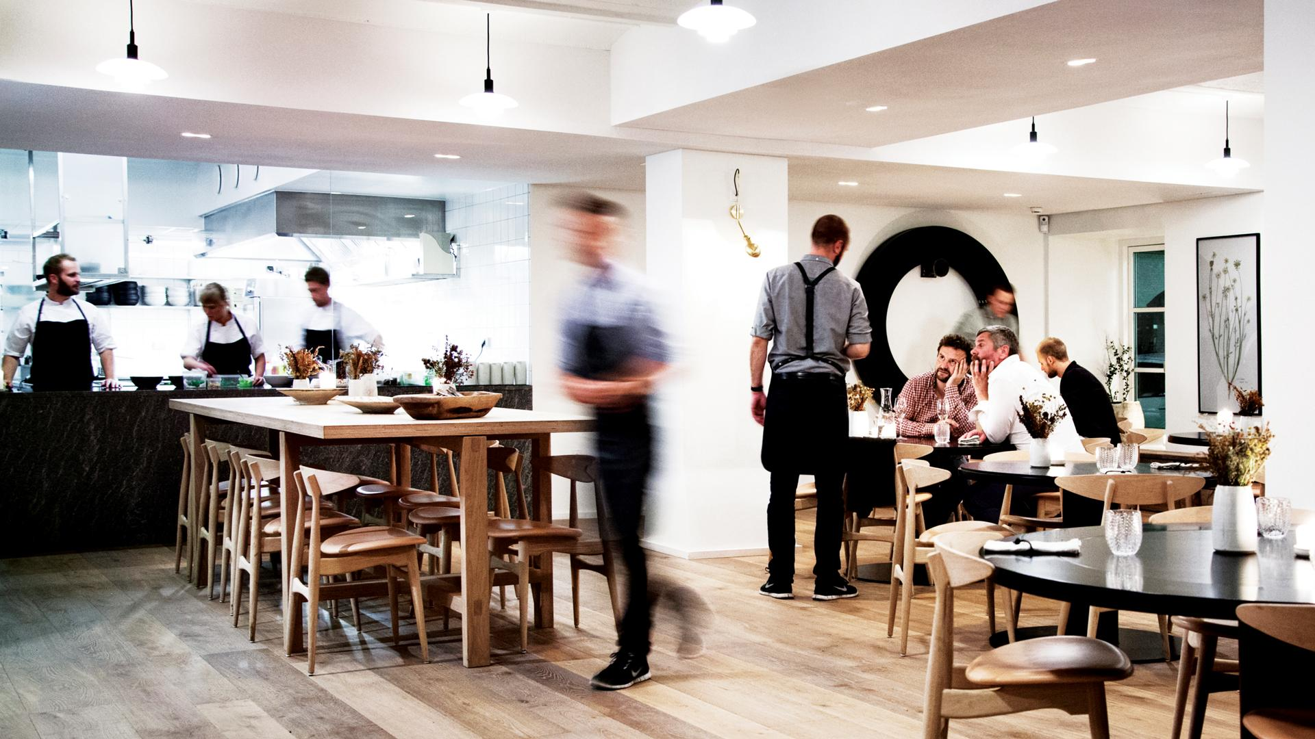 Famous restaurant Copenhagen; Kadeau.