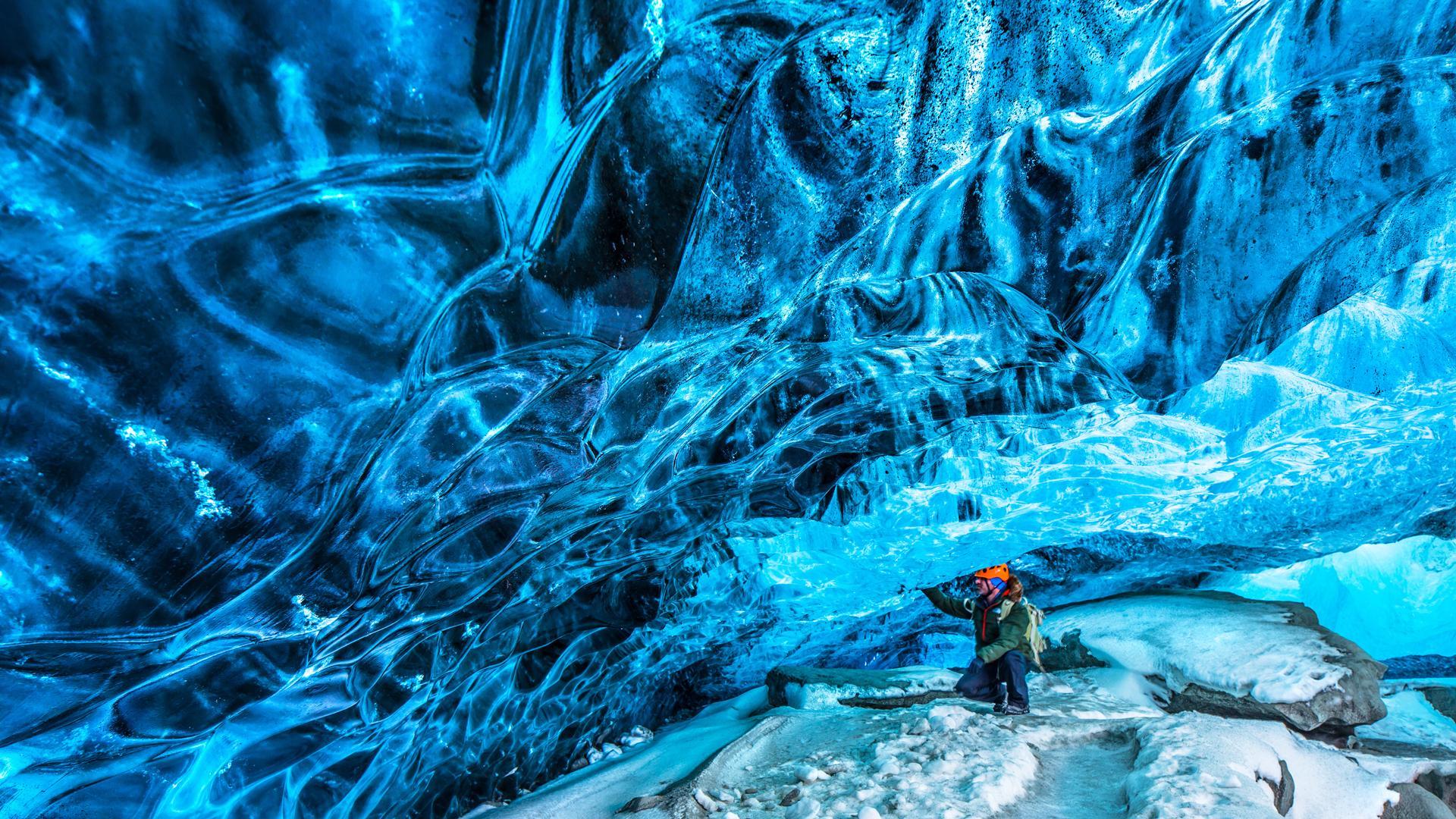 Skaftafell Ice Cave, Iceland