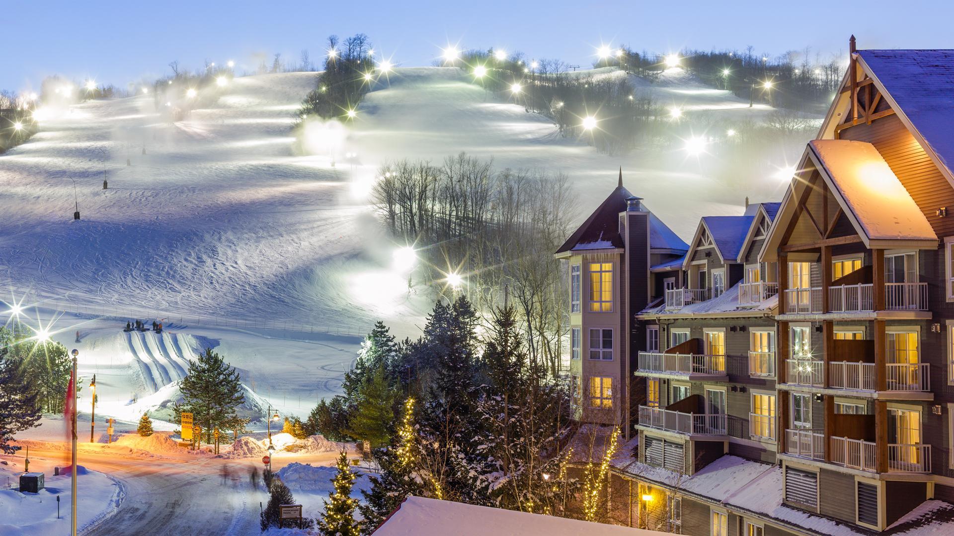 Blue Mountain village, Ontario