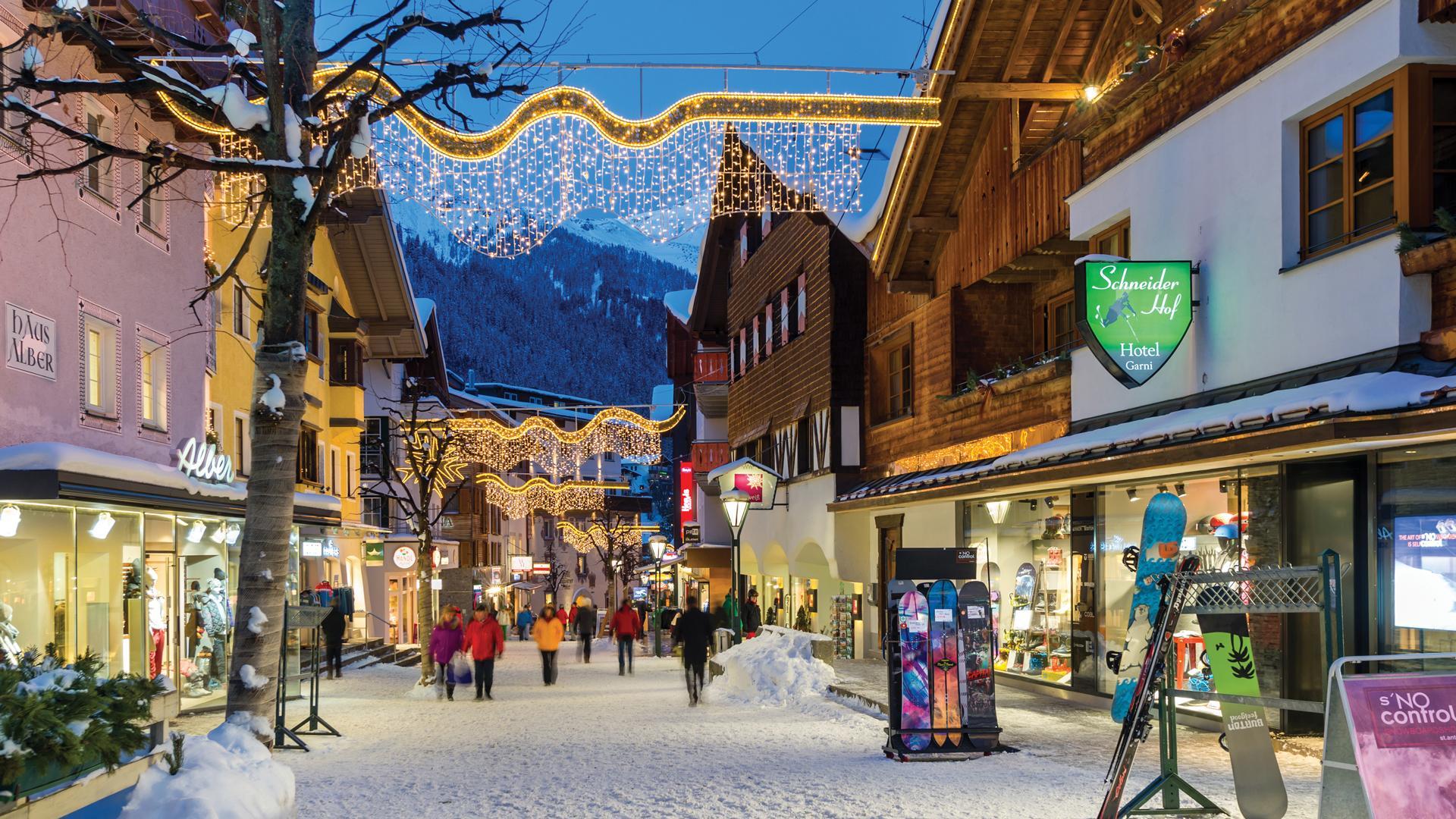St. Anton, Austria