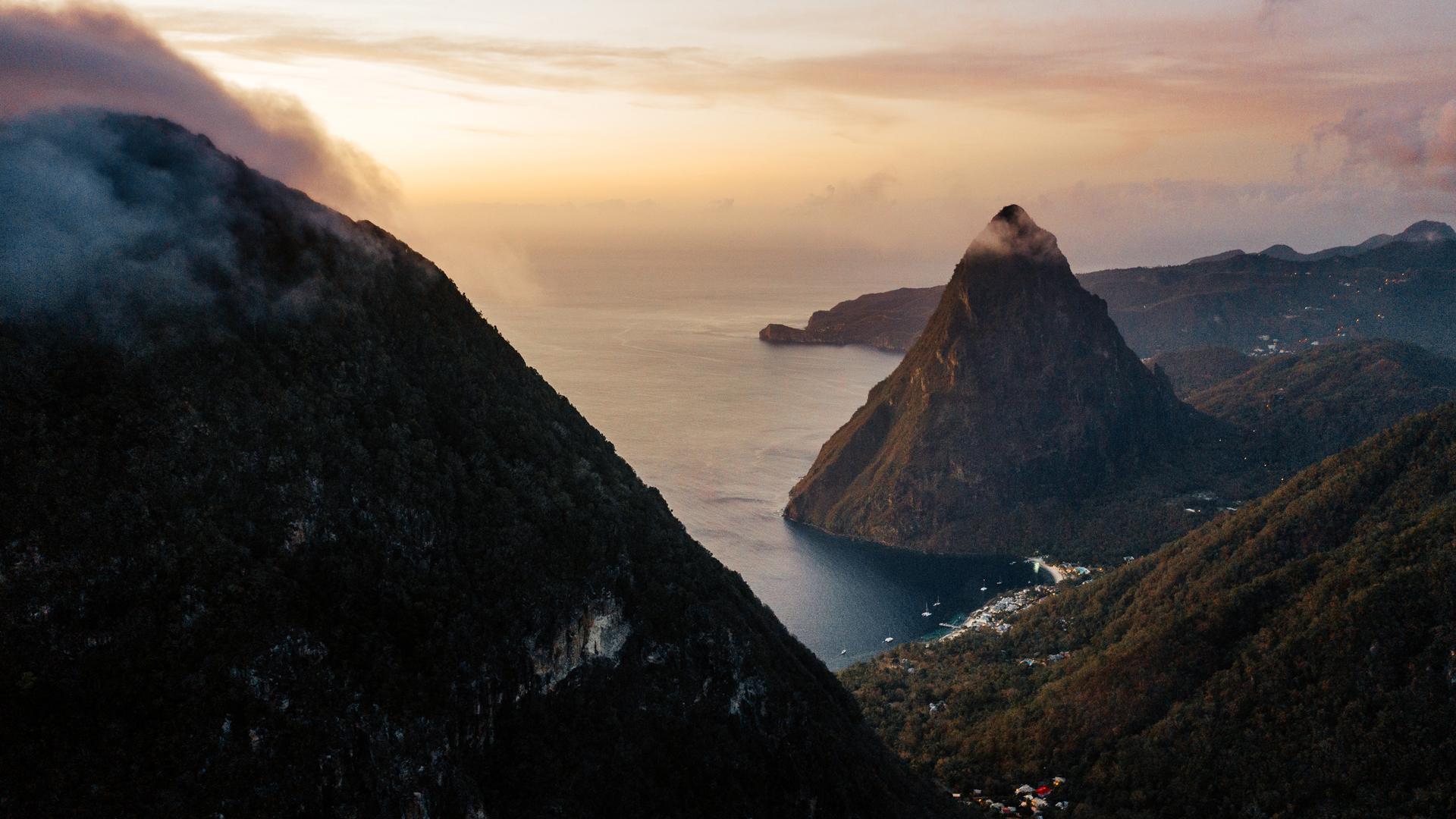 Gros Piton and Petit Piton, Saint Lucia