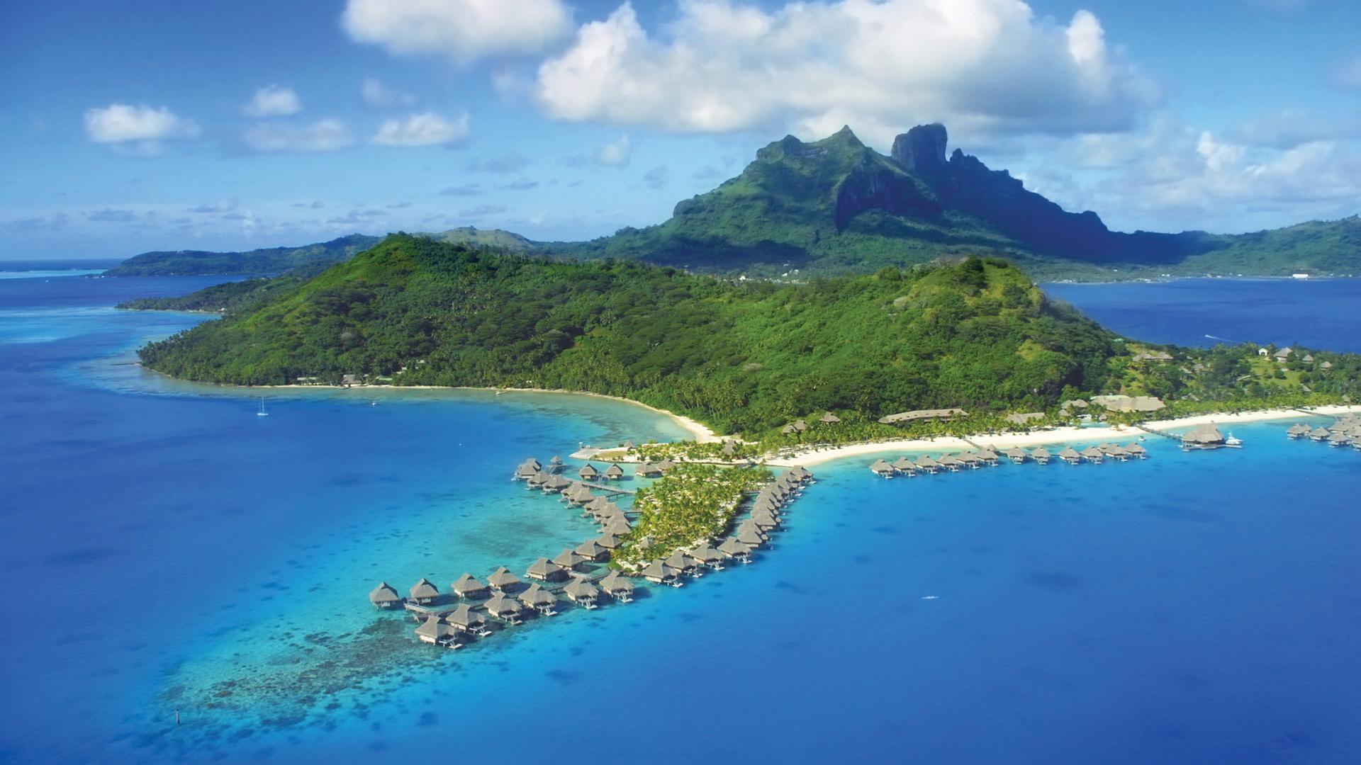 Lagoon of Bora Bora, French Polynesia