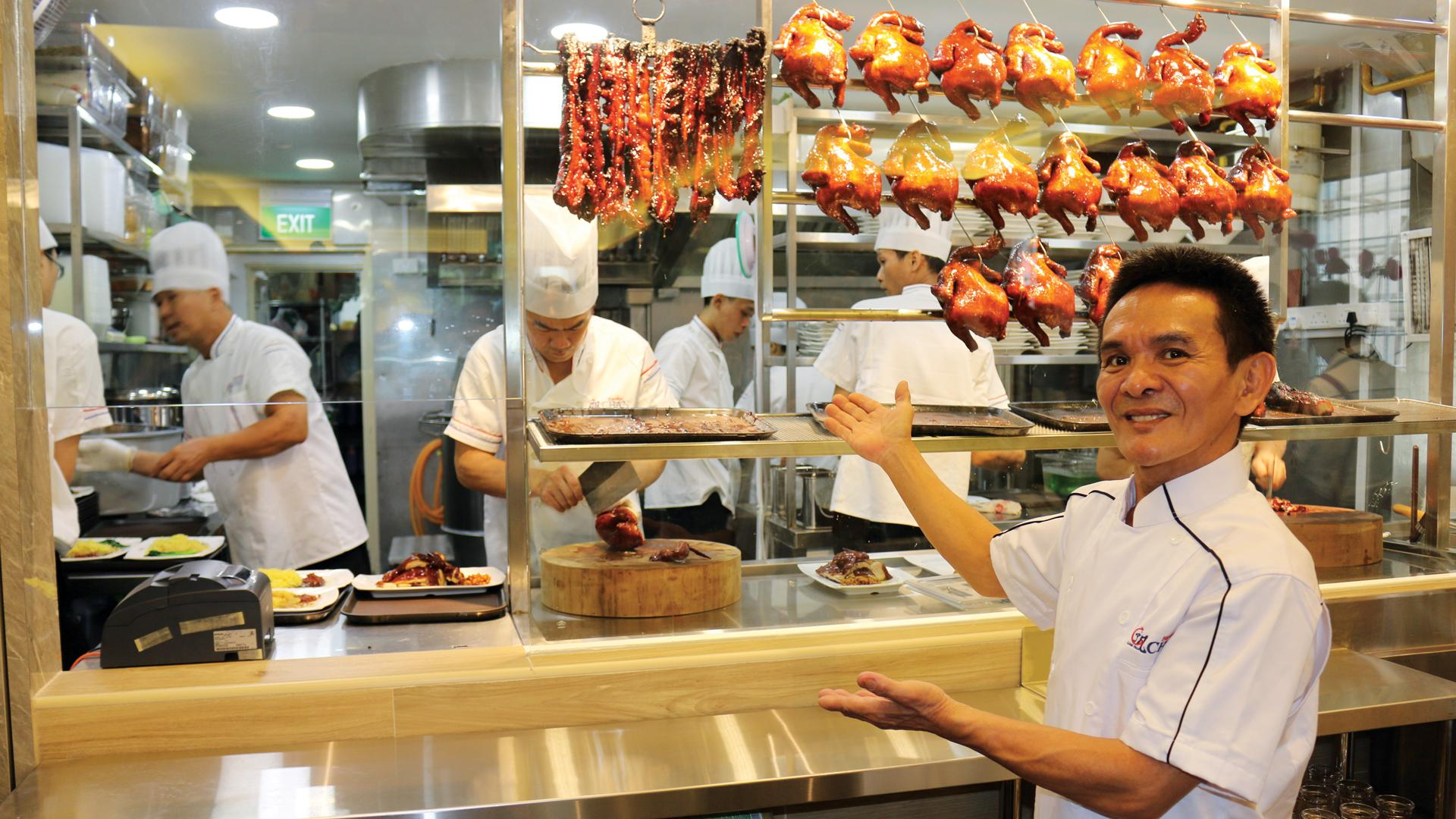 Hawker Chan, a Michelin star restaurant in Singapore