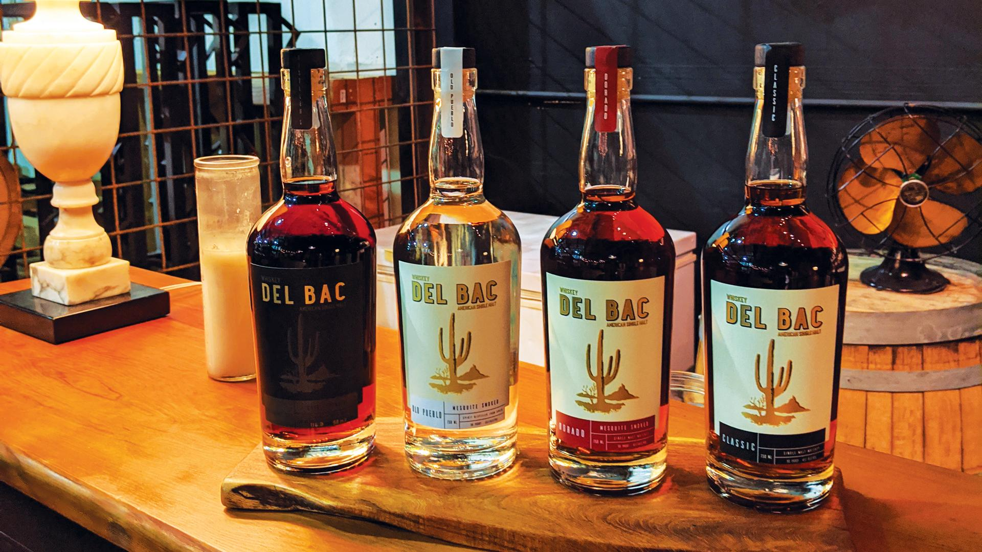 Whiskey del Bac, Hamilton Distillers, Tucson, Arizona
