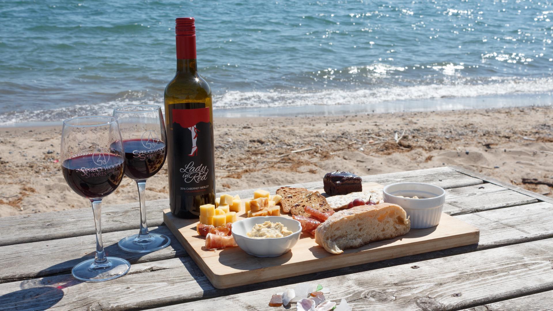 Best road trip restaurants | Sprucewood Shores Estate Winery