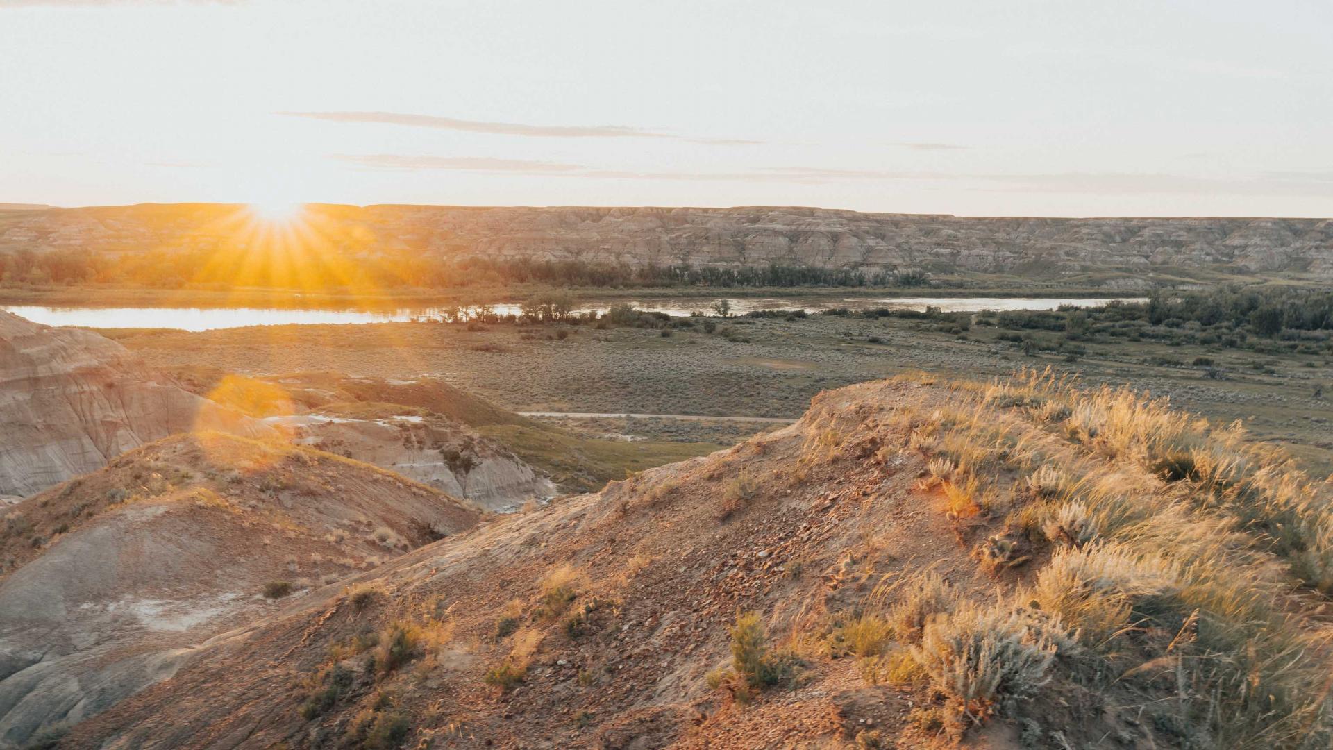 Canadian natural wonders | Dinosaur Park Alberta