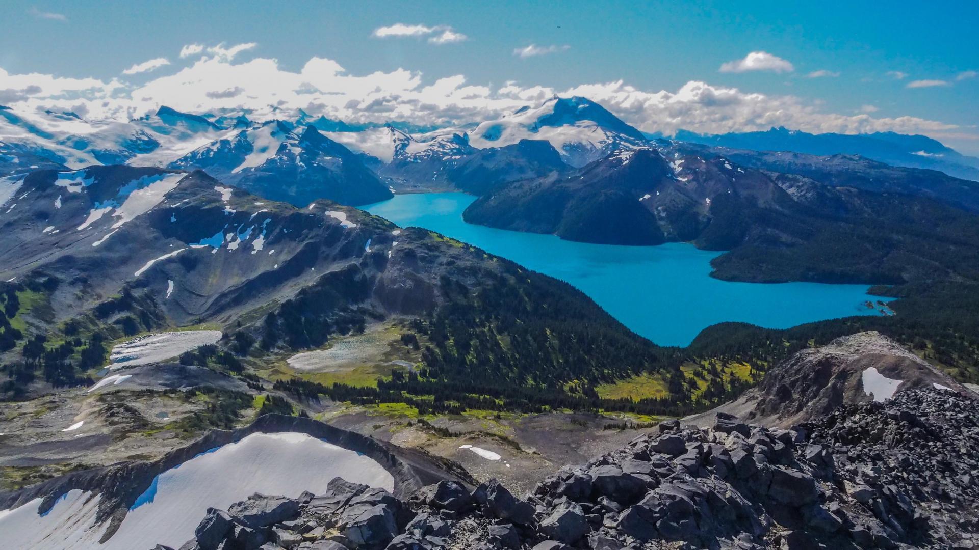 Canadian Natural Wonders | Lake Garibaldi, Whistler
