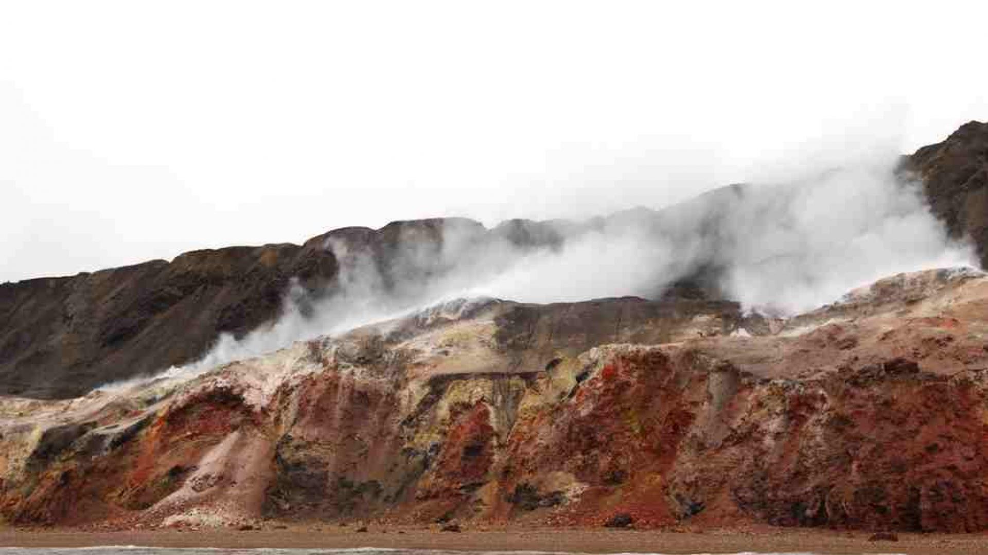 Canadian natural wonders | Smoking Hills, Inuvik