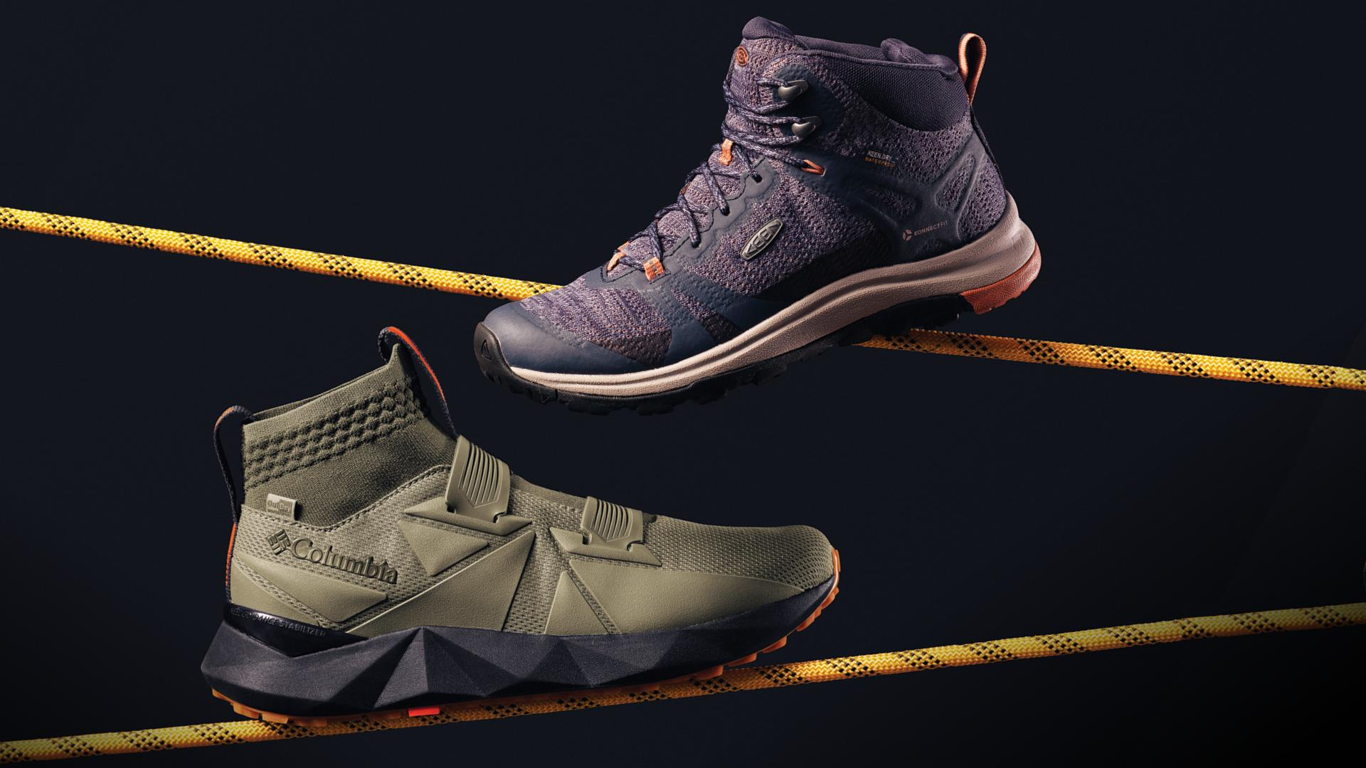 hiking essentials for fall 2020 | Columbia Facet boot, Keen Terradora II boot