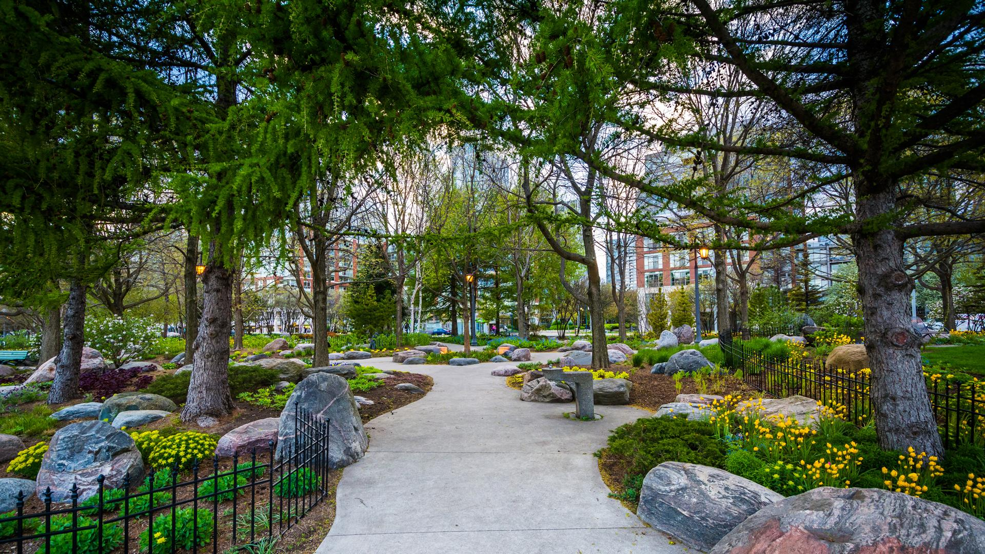 The best walking trails in Toronto | The Toronto Music Garden