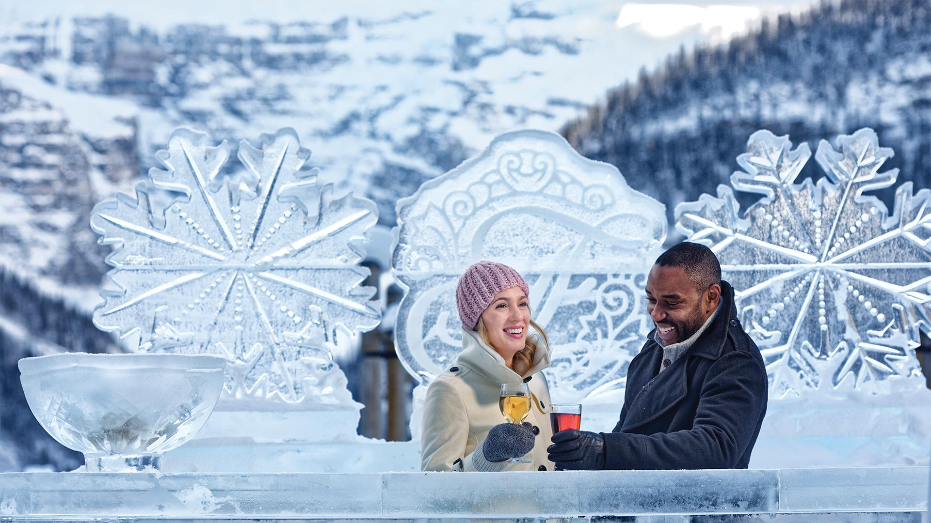 The best things to do in Banff right now | Winter Ice Magic at the Fairmont Lake Louise