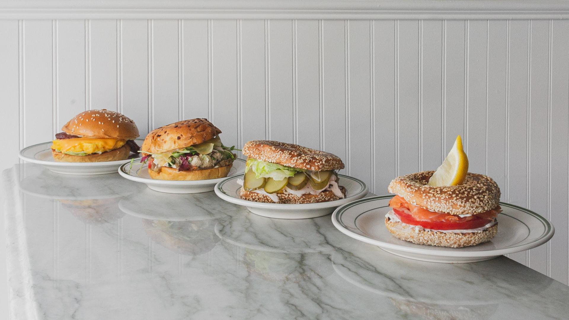 Montreal bagels | Bagel sandwiches at Arthurs Nosh Bar