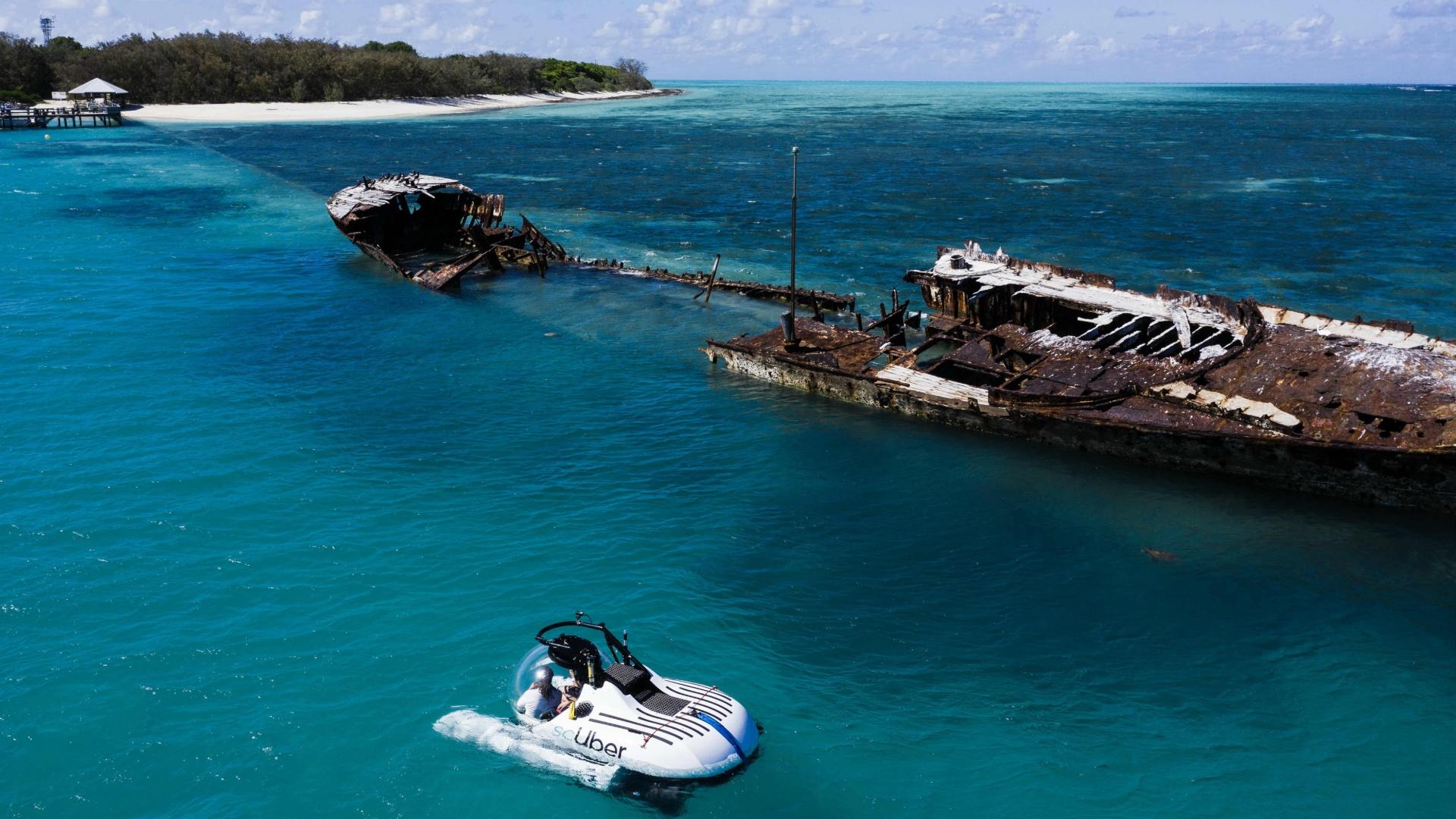 Uber Launches World's First Rideshare Submarine