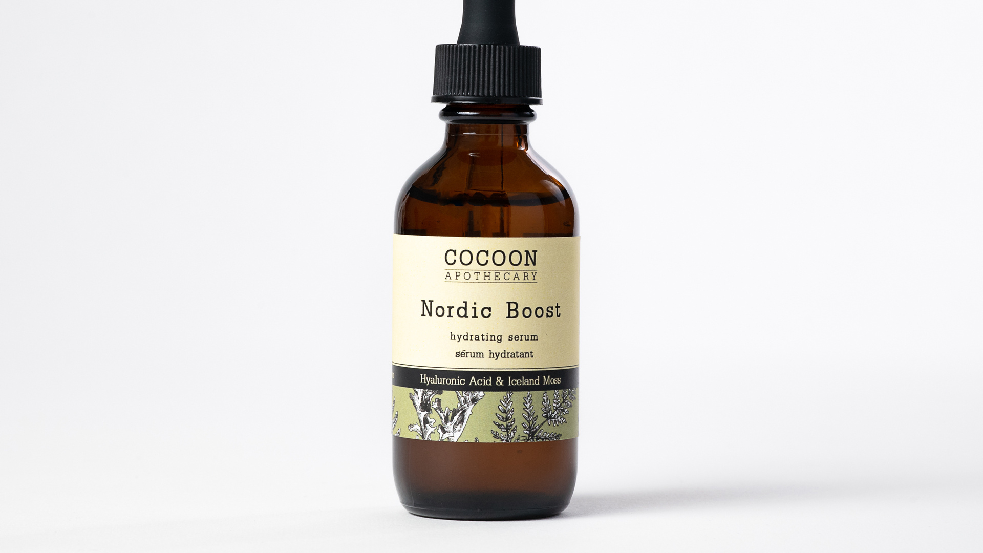 Cocoon Apothecary's Nordic Boost Hydrating Serum
