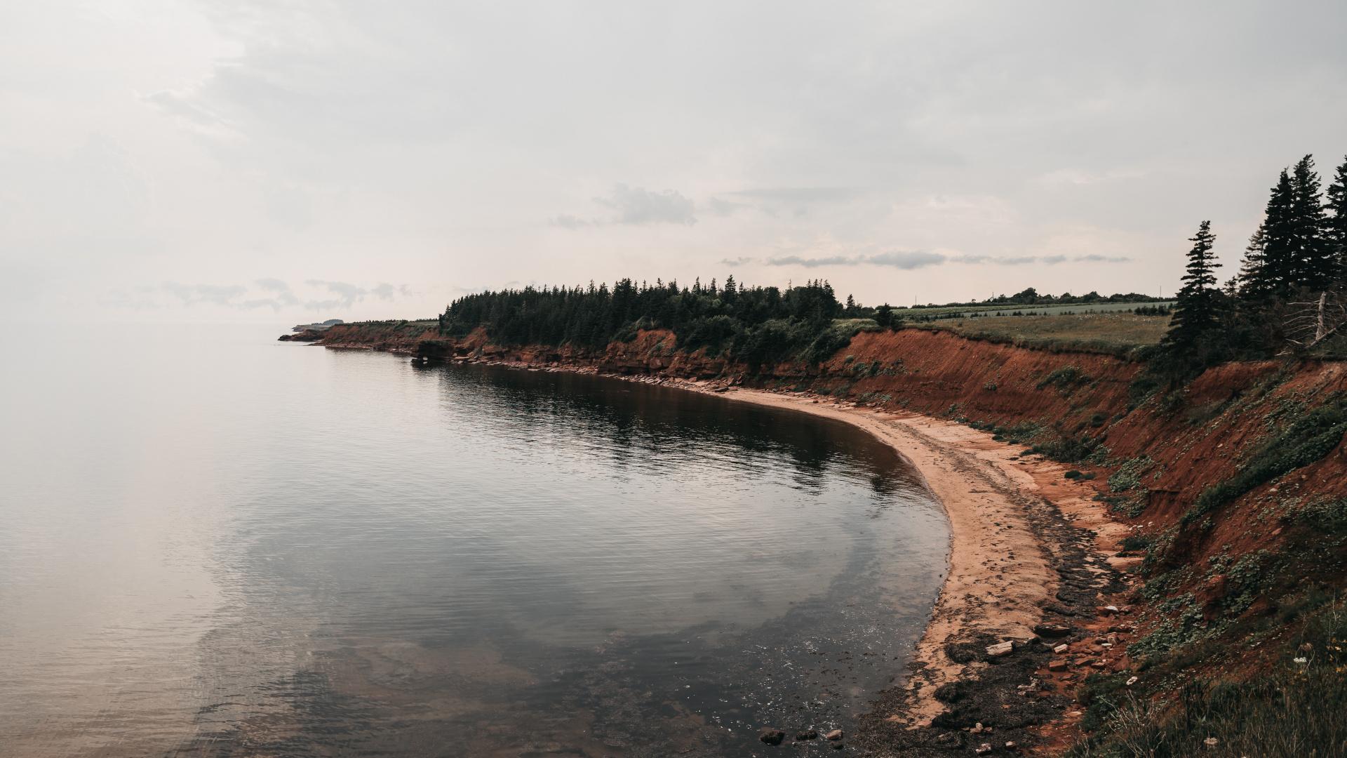 Canadian natural wonders | The Red Coast, Prince Edward Island