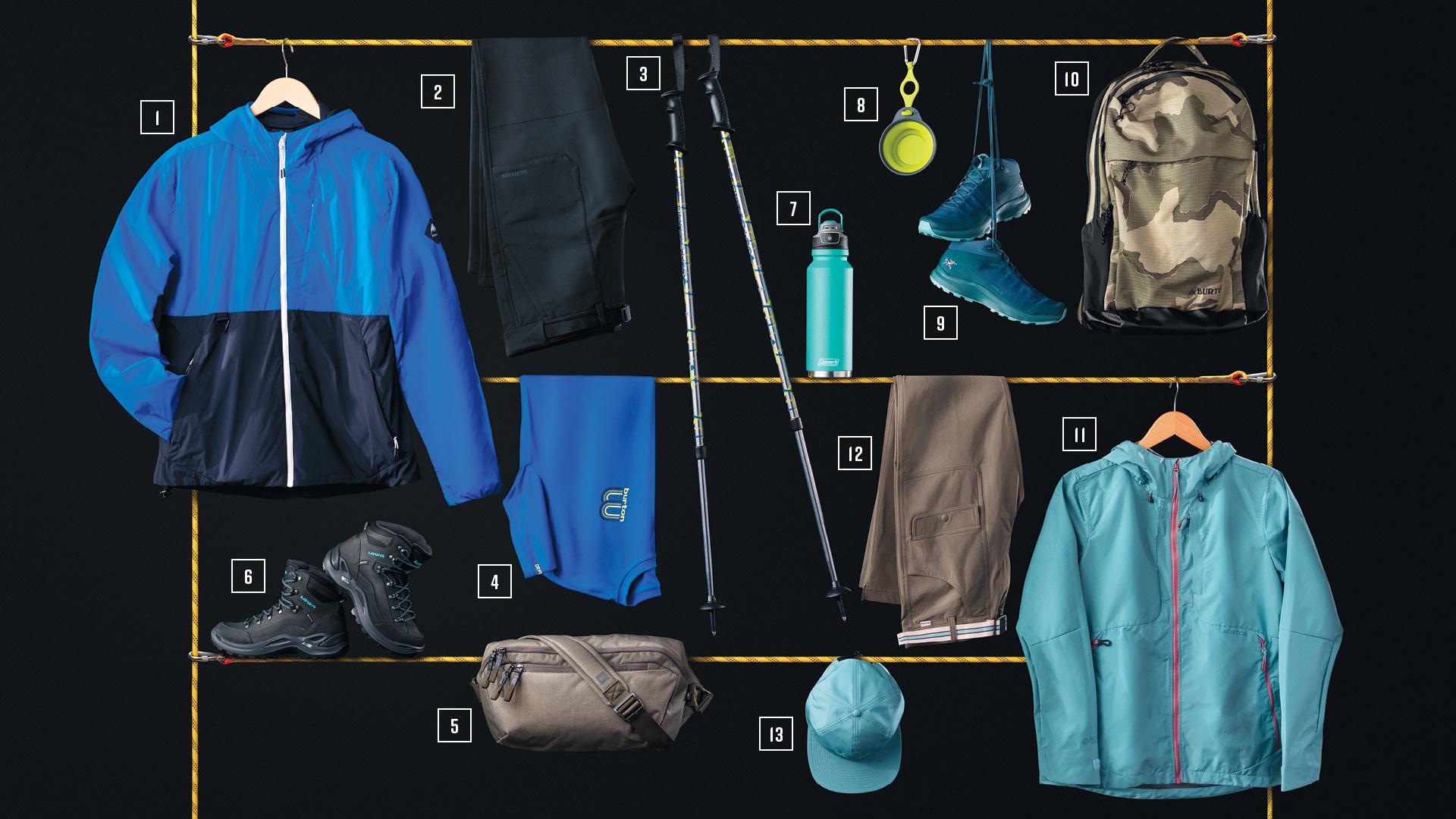Fall hiking essentials