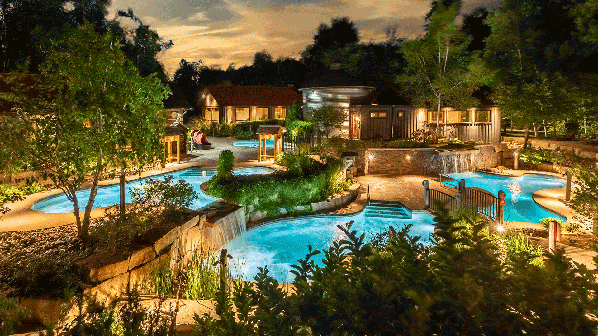 The best, must-visit spas in Ontario near Toronto   The Scandinave Spa, Blue Mountain