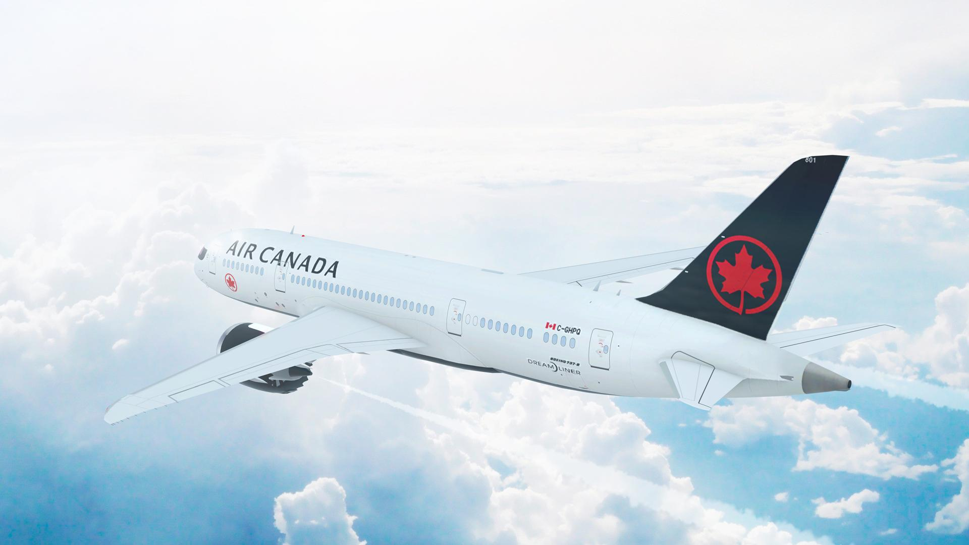 Aeroplan points partners with Starbucks Rewards | An Air Canada plane