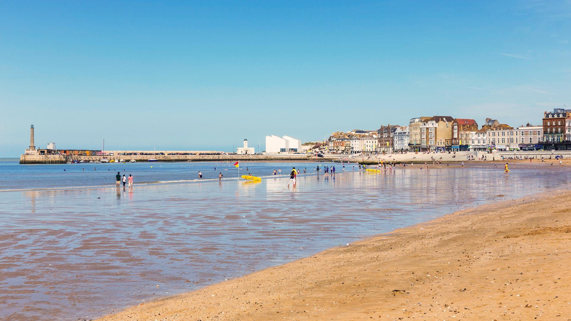 The Kent Coast, U.K.   Margate Main Sands