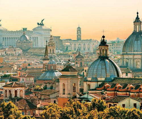 A guide to Rome, Italy.
