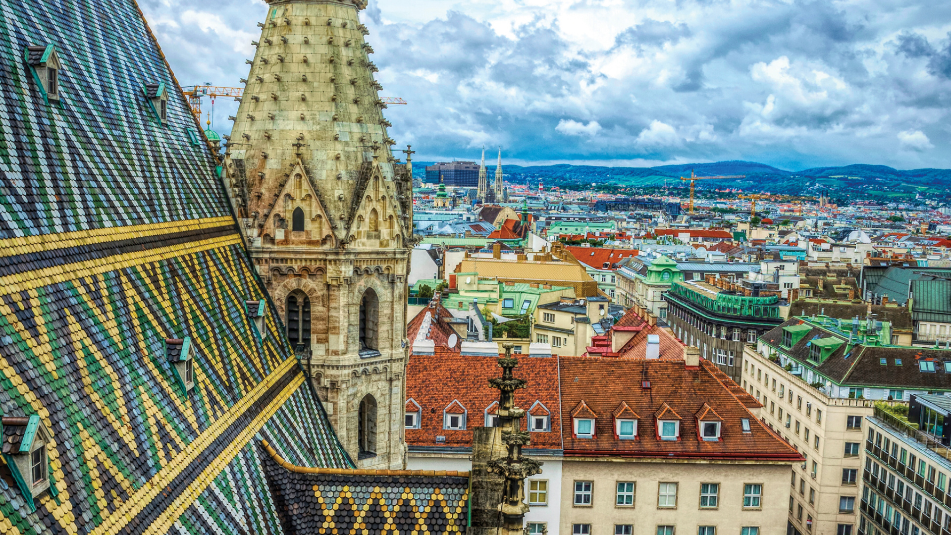 Things to do in Vienna, Austria | View from St. Stephen's Cathedral in Vienna