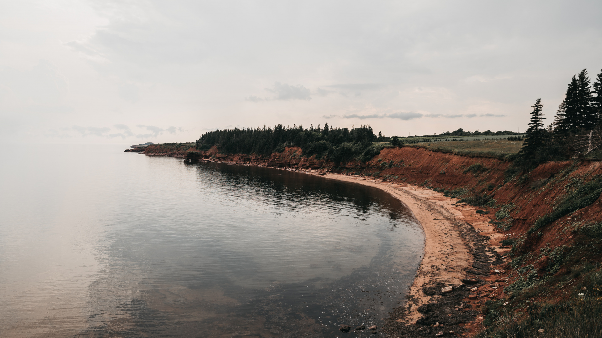 Canadian natural wonders | Prince Edward Island's red coast | Nick Dietrich