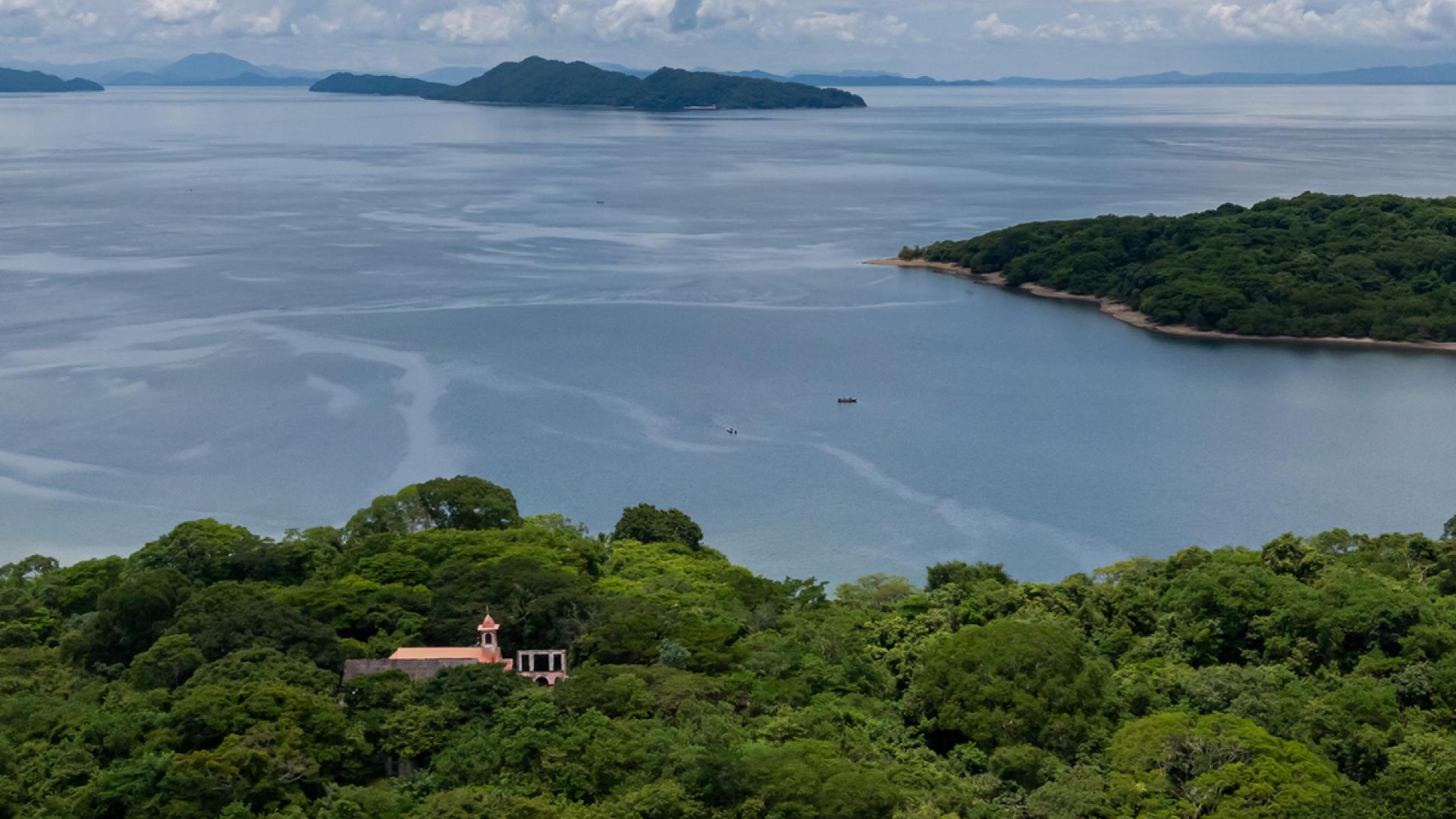 San Lucas prison island Costa Rica national park