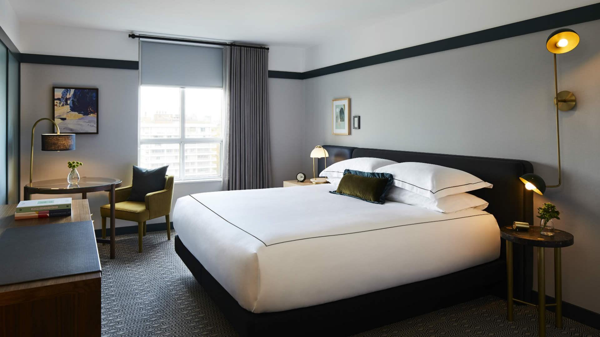Hotel review: the Kimpton Saint George hotel, Toronto | Guestroom at Kimpton Saint George