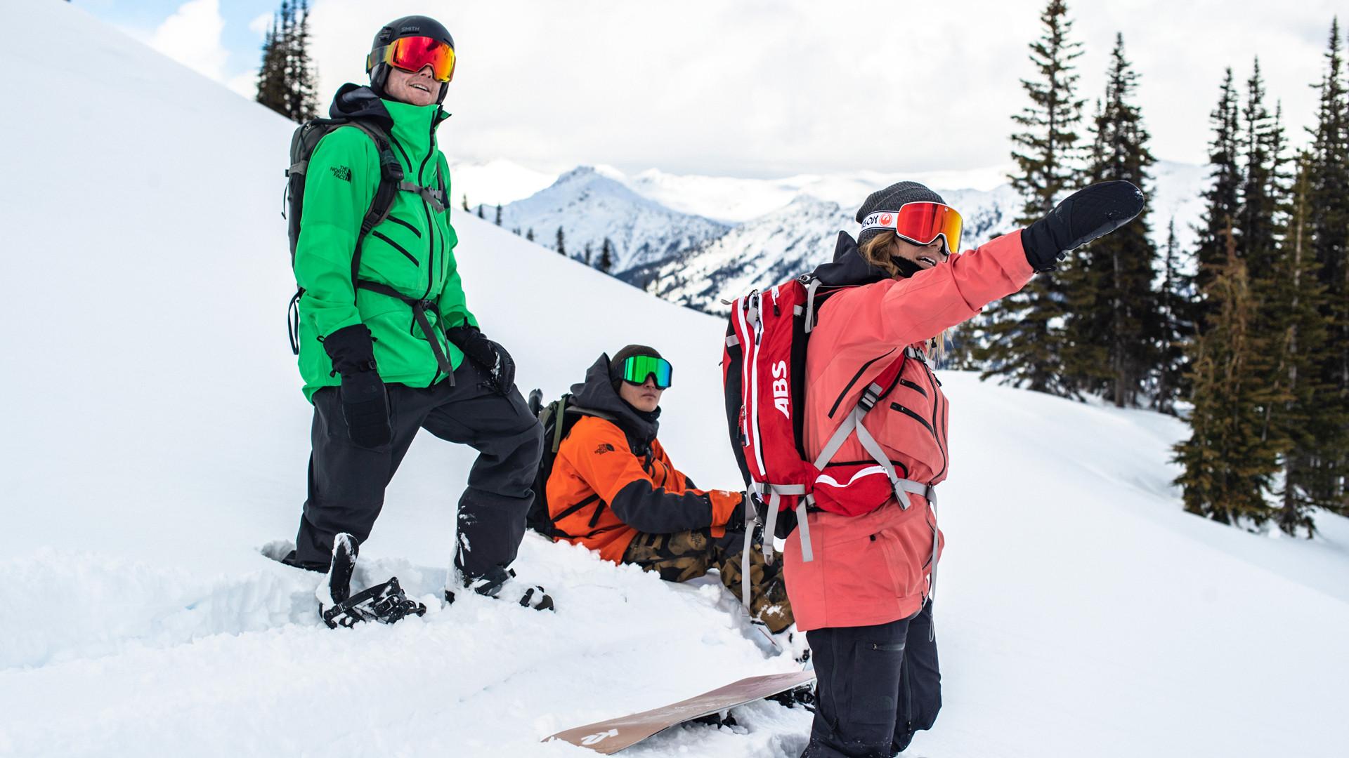 The North Face snowboard/ski jacket