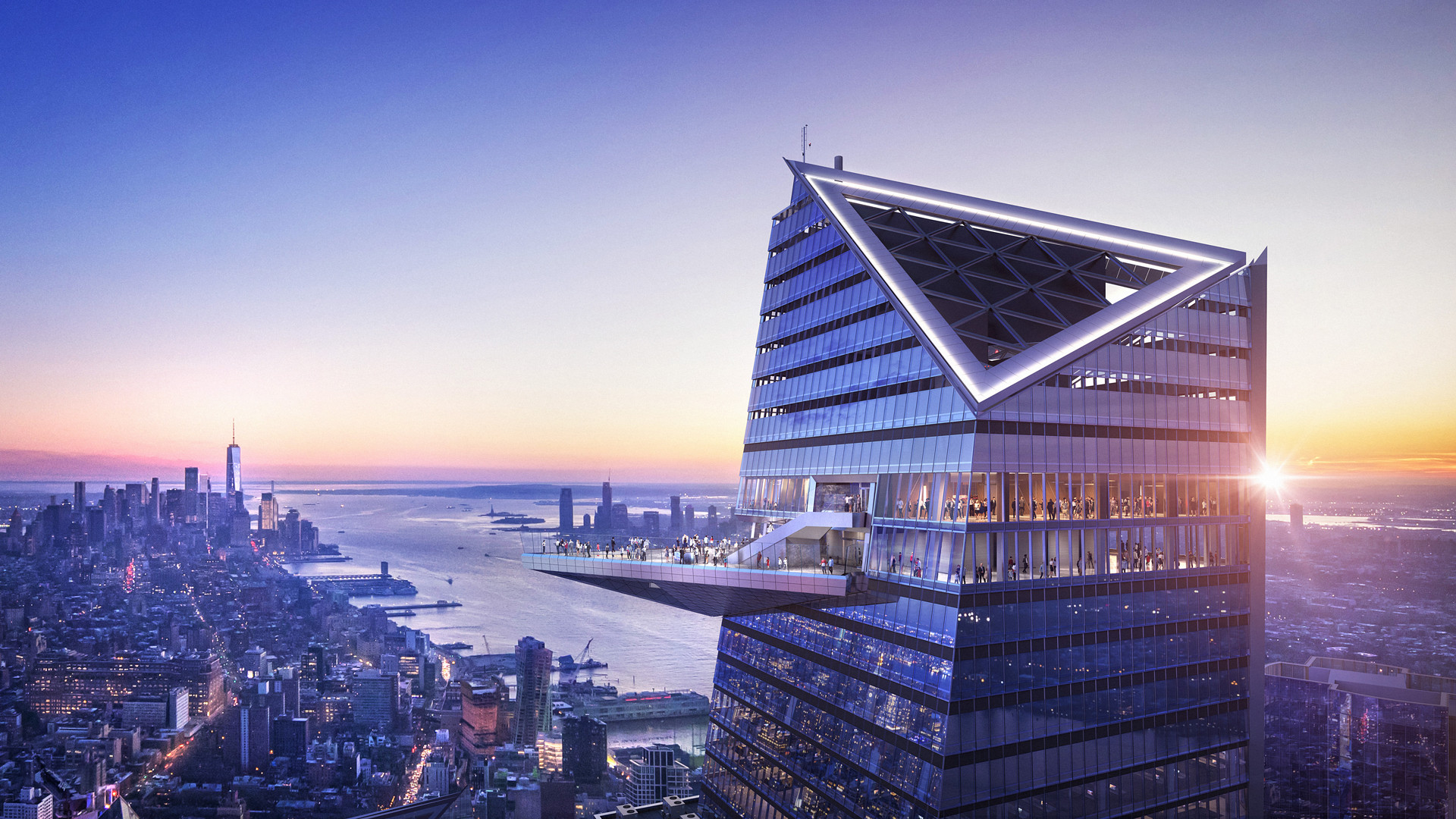 Edge and Peak, Hudson Yards, New York