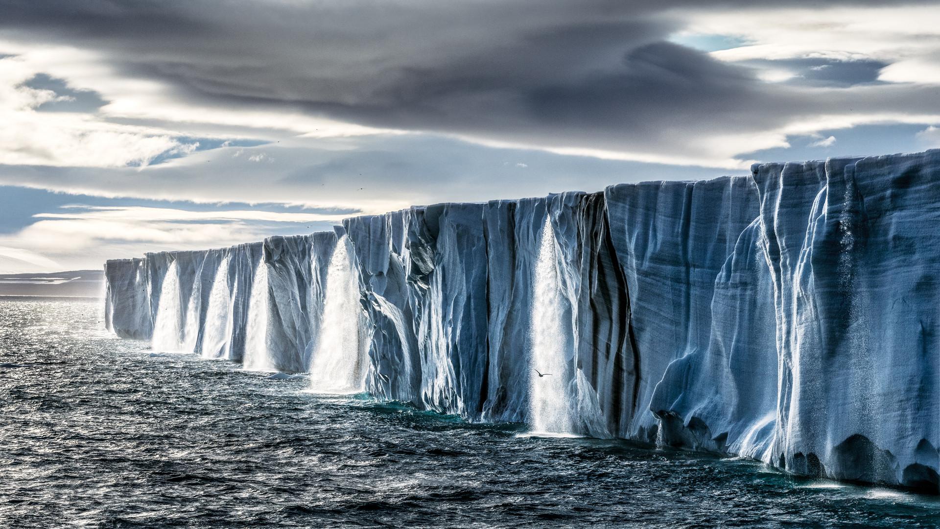 Nordaustlandet ice cap in Svalbard, Norway