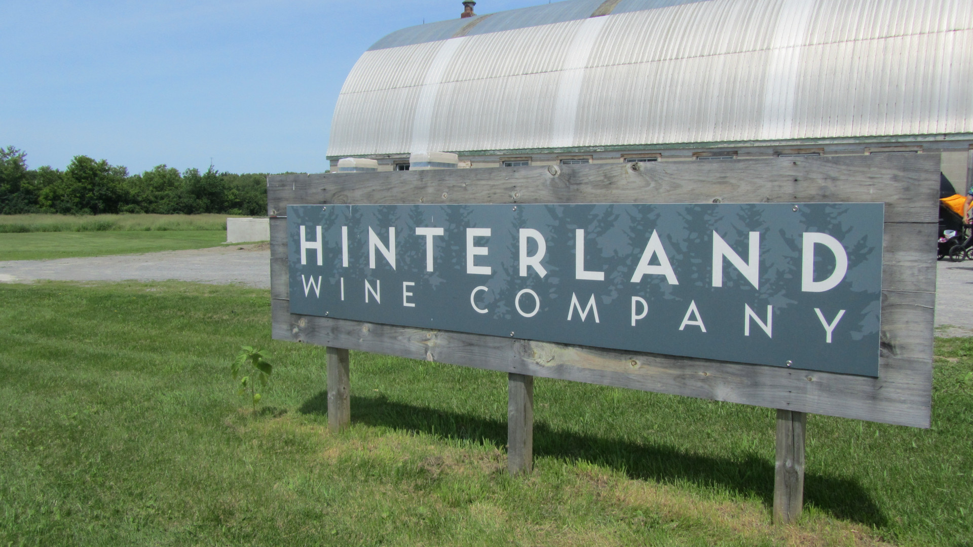 Best Prince Edward Wineries | Hinterland sign