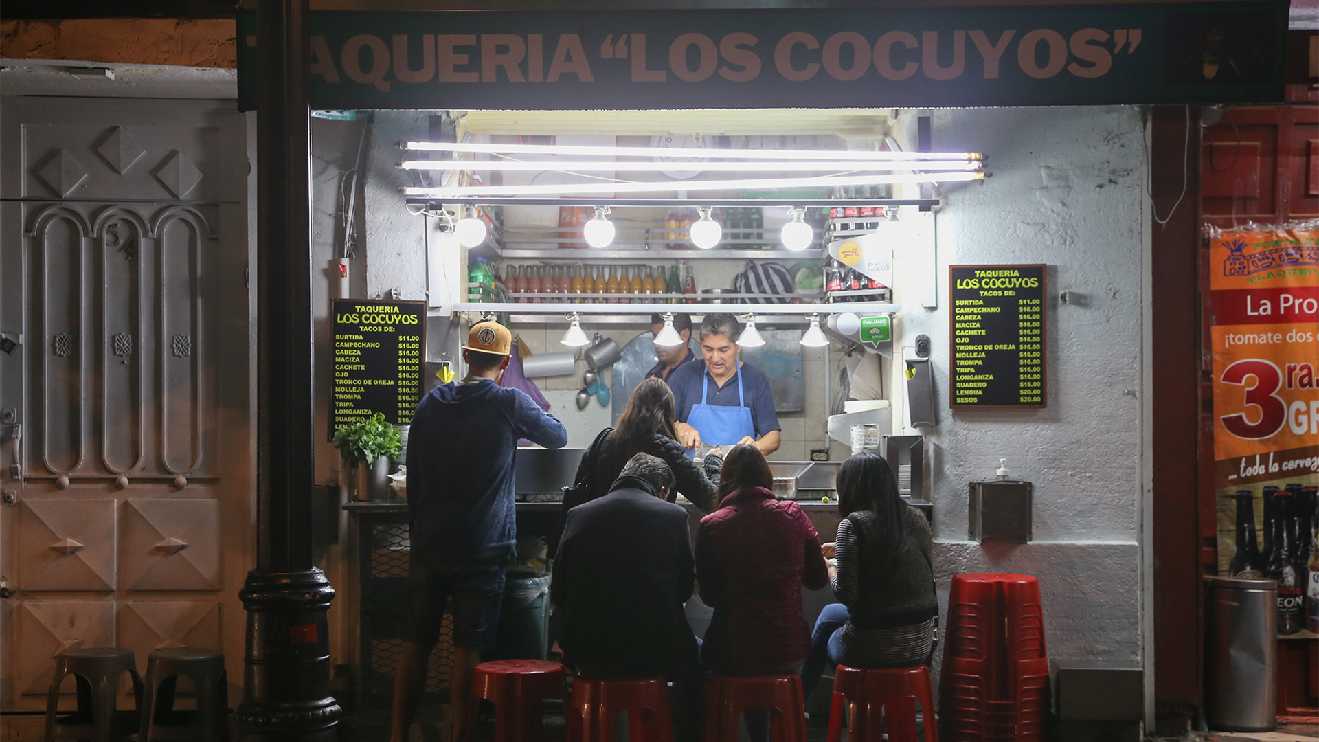 best things to do in Mexico City on any budget | Taqueria Los Cocuyos