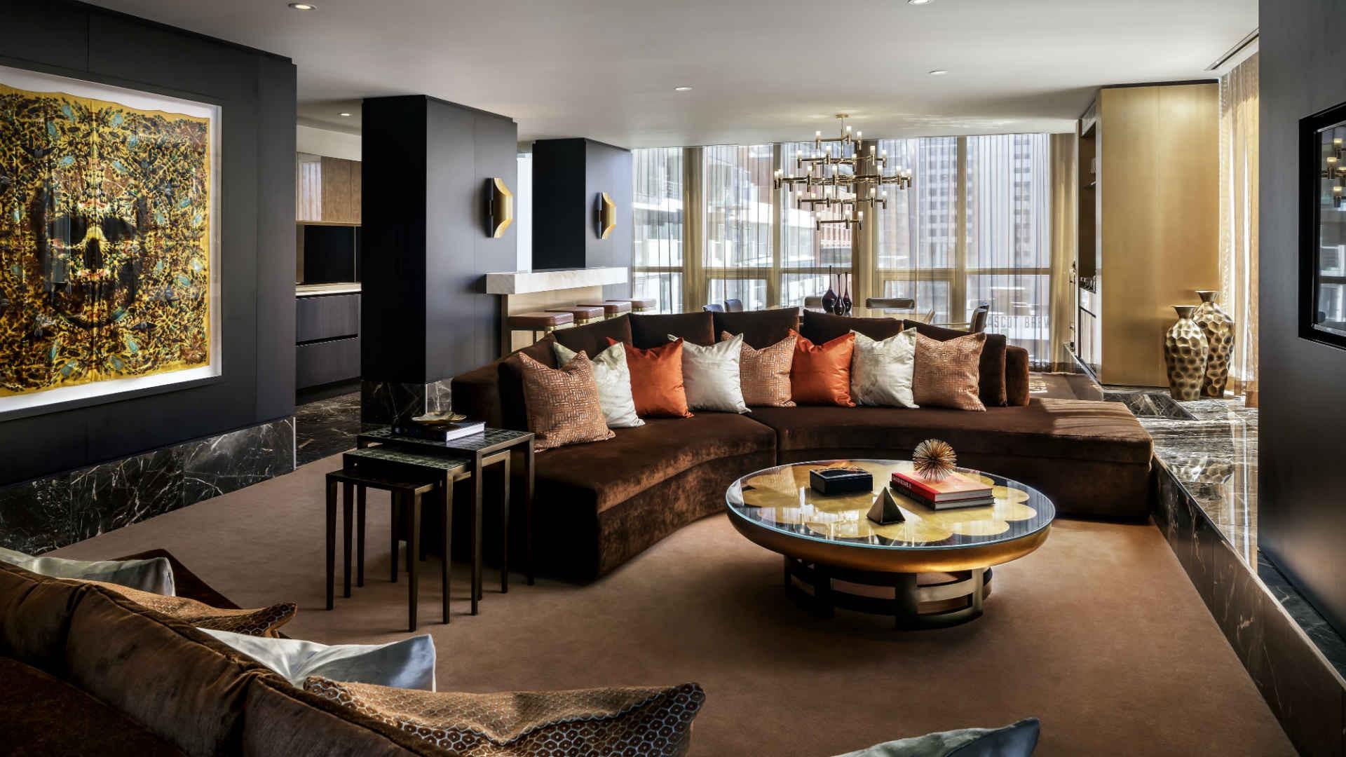 Best hotels Toronto staycation | The Bisha Hotel suite