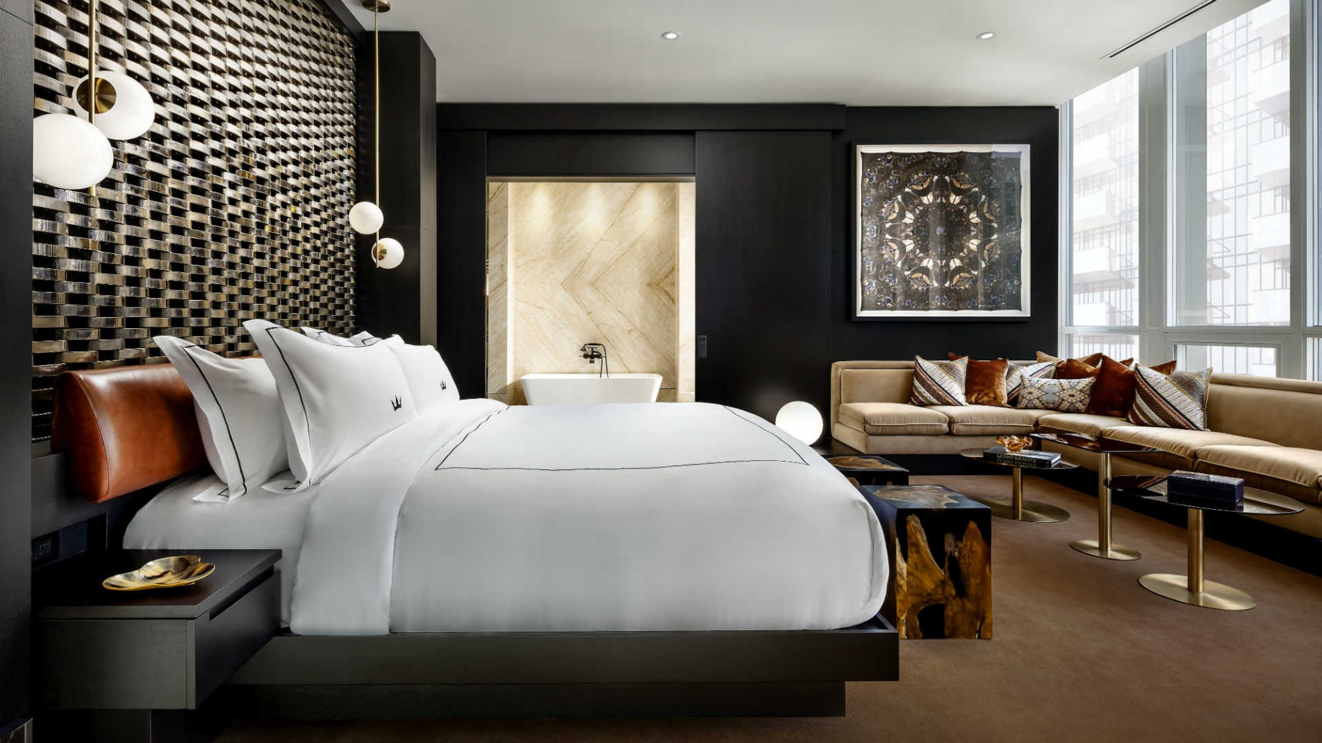 Best hotels Toronto staycation | The Bisha Hotel one bedroom suite