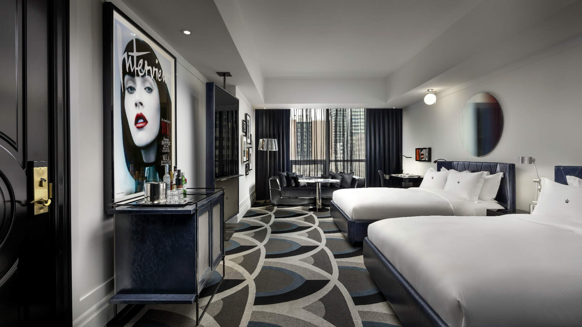 Best hotels Toronto staycation | The Bisha Hotel two bedroom suite