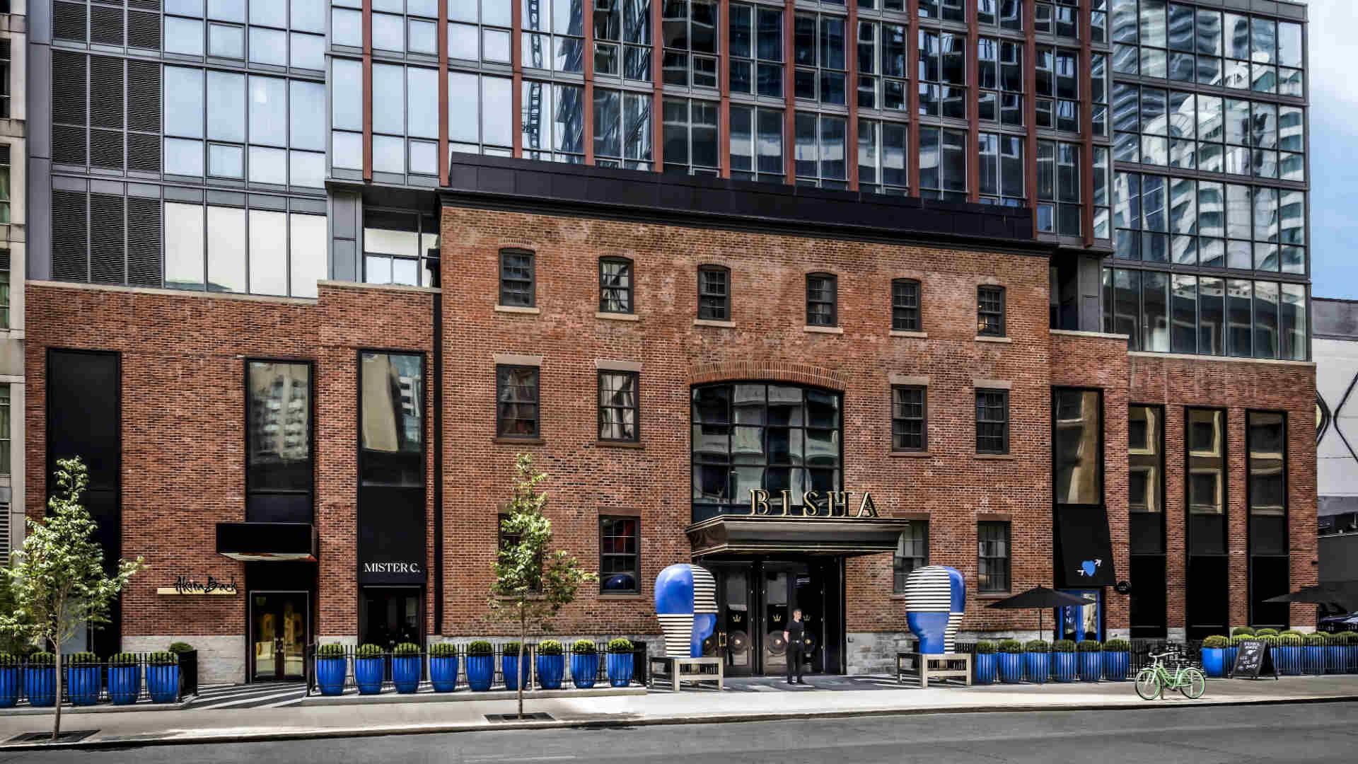 Best hotels Toronto staycation | The Bisha Hotel street view