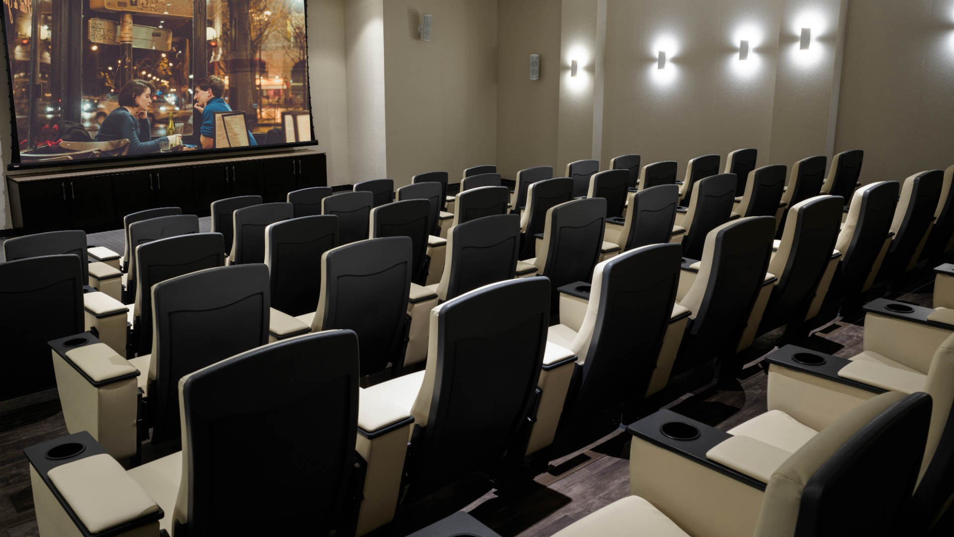 Best hotels Toronto staycation | Hotel X on-site movie theatre
