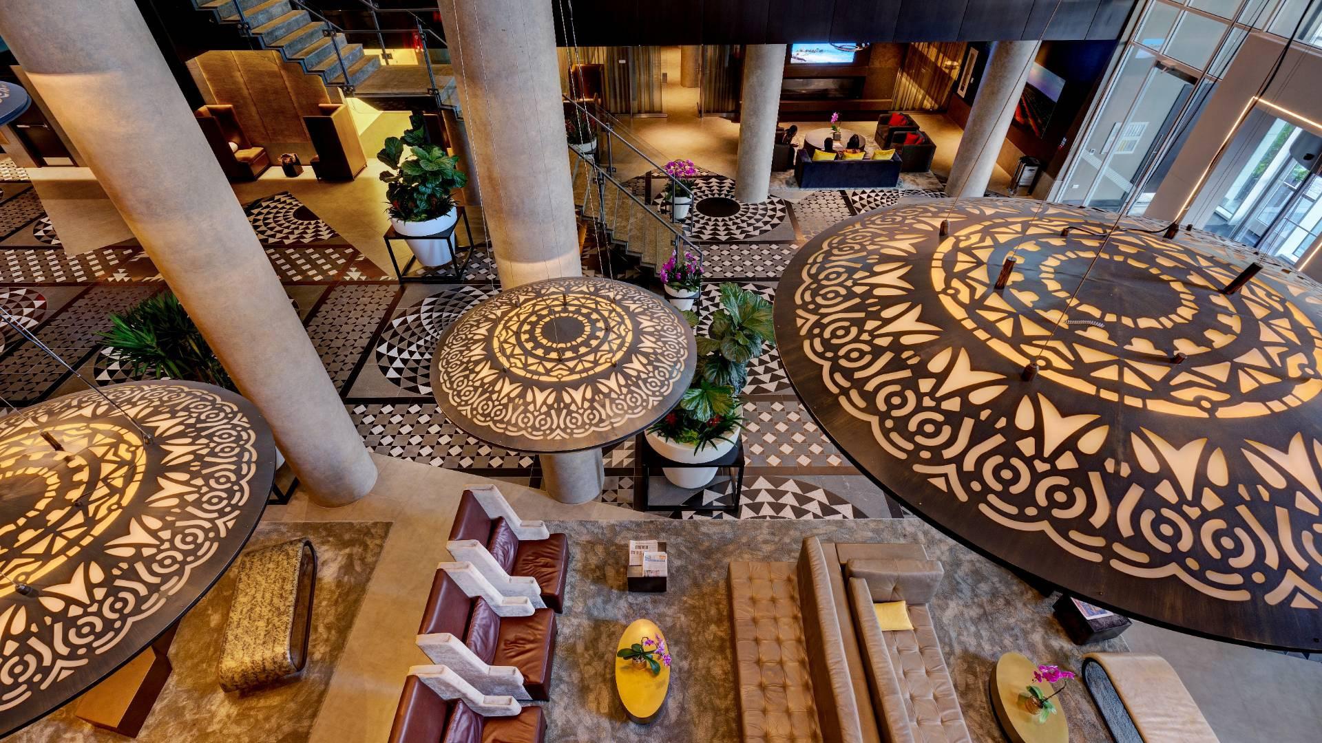 Best hotels Toronto staycation | Hotel X main entrance lobby