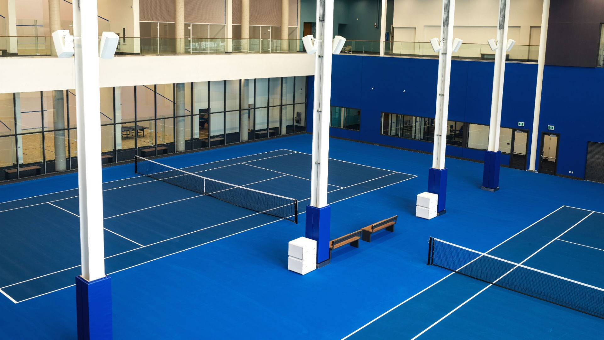 Best hotels Toronto staycation | Hotel X on-site indoor tennis courts
