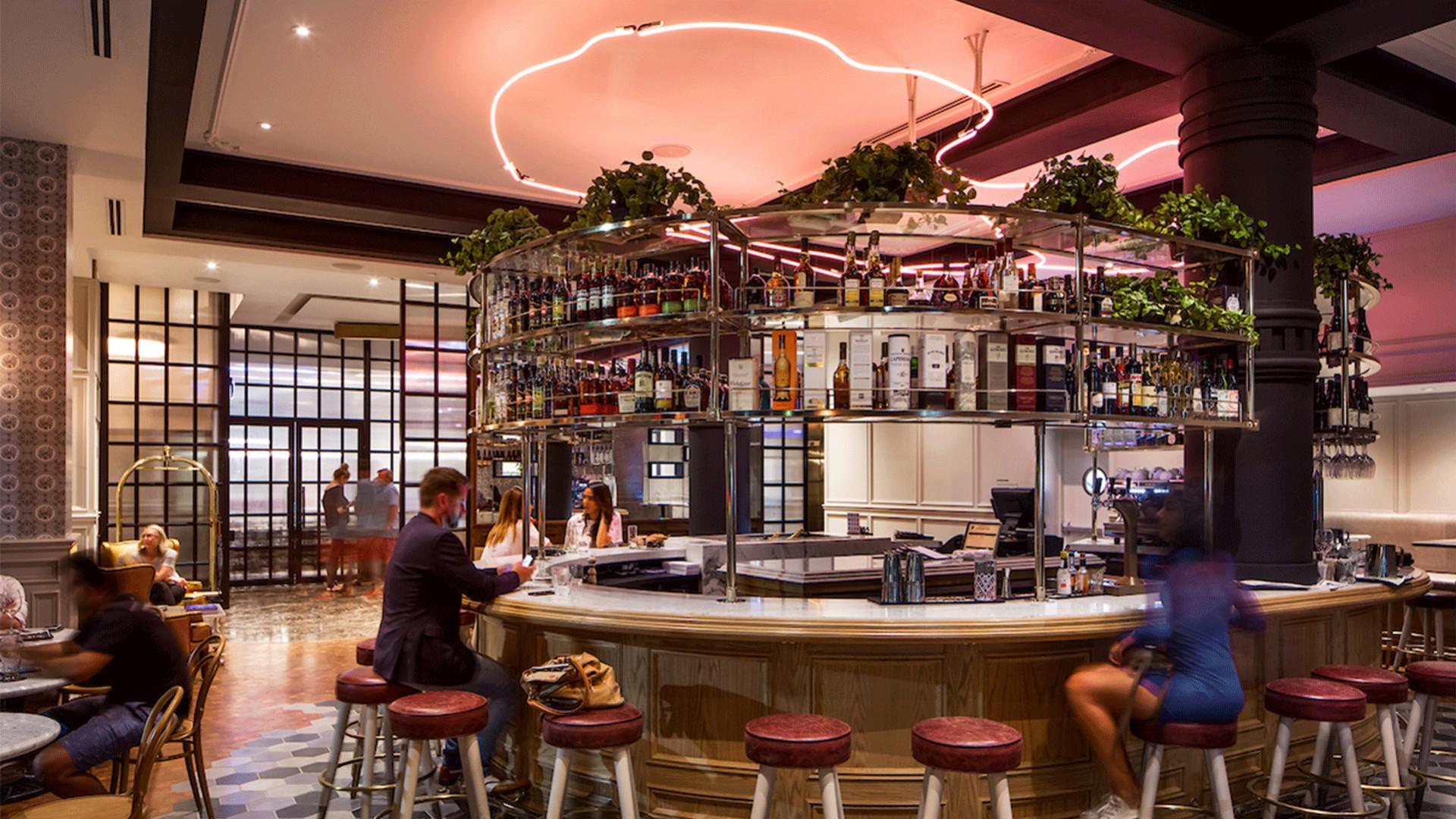 Best hotels Toronto staycation | The Broadview Hotel main floor bar