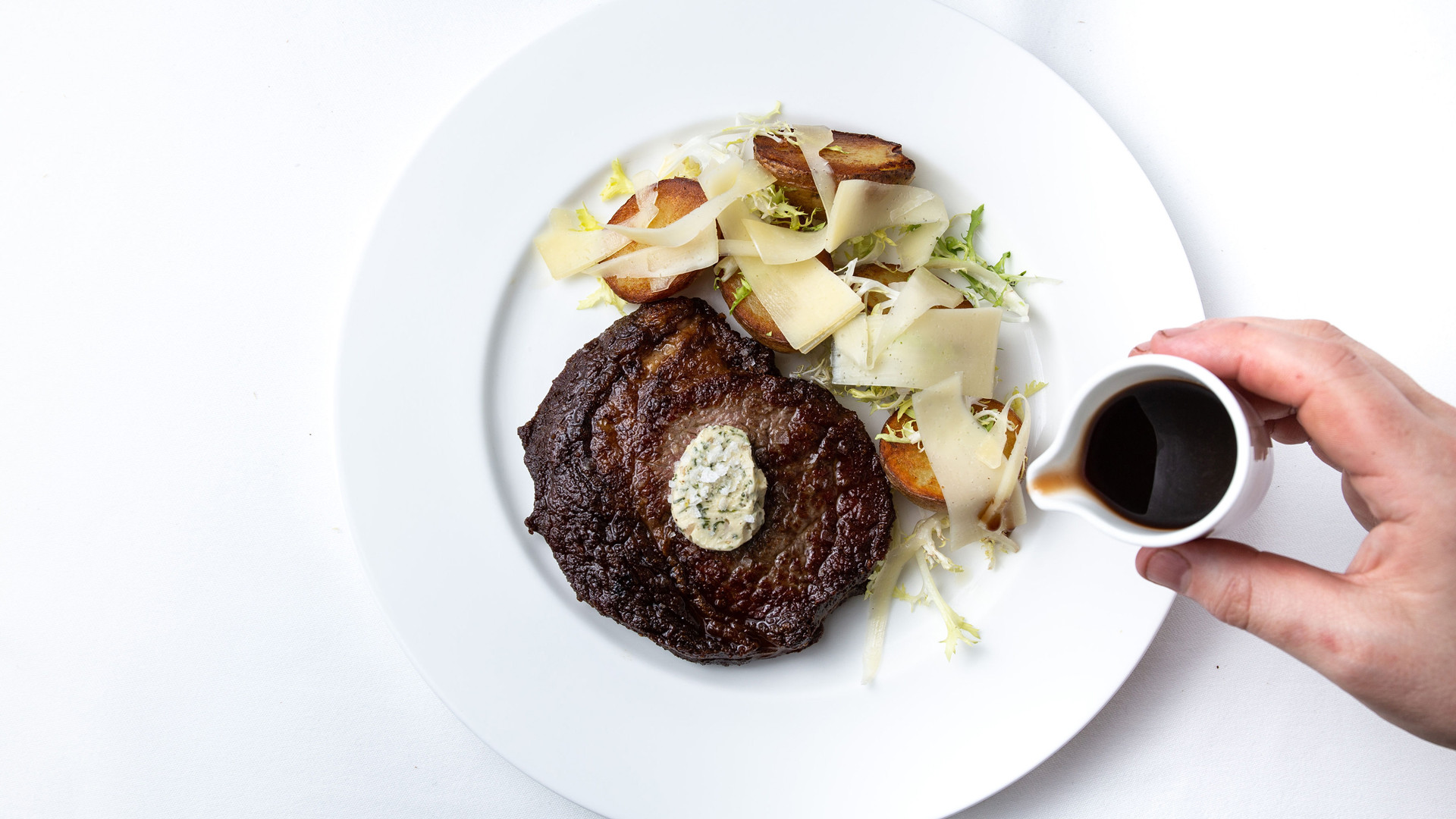 Restaurants in Victoria, B.C. plus hotels, activities and more | 10oz dry aged beef ribeye at the Courtney Room at the Magnolia Hotel & Spa