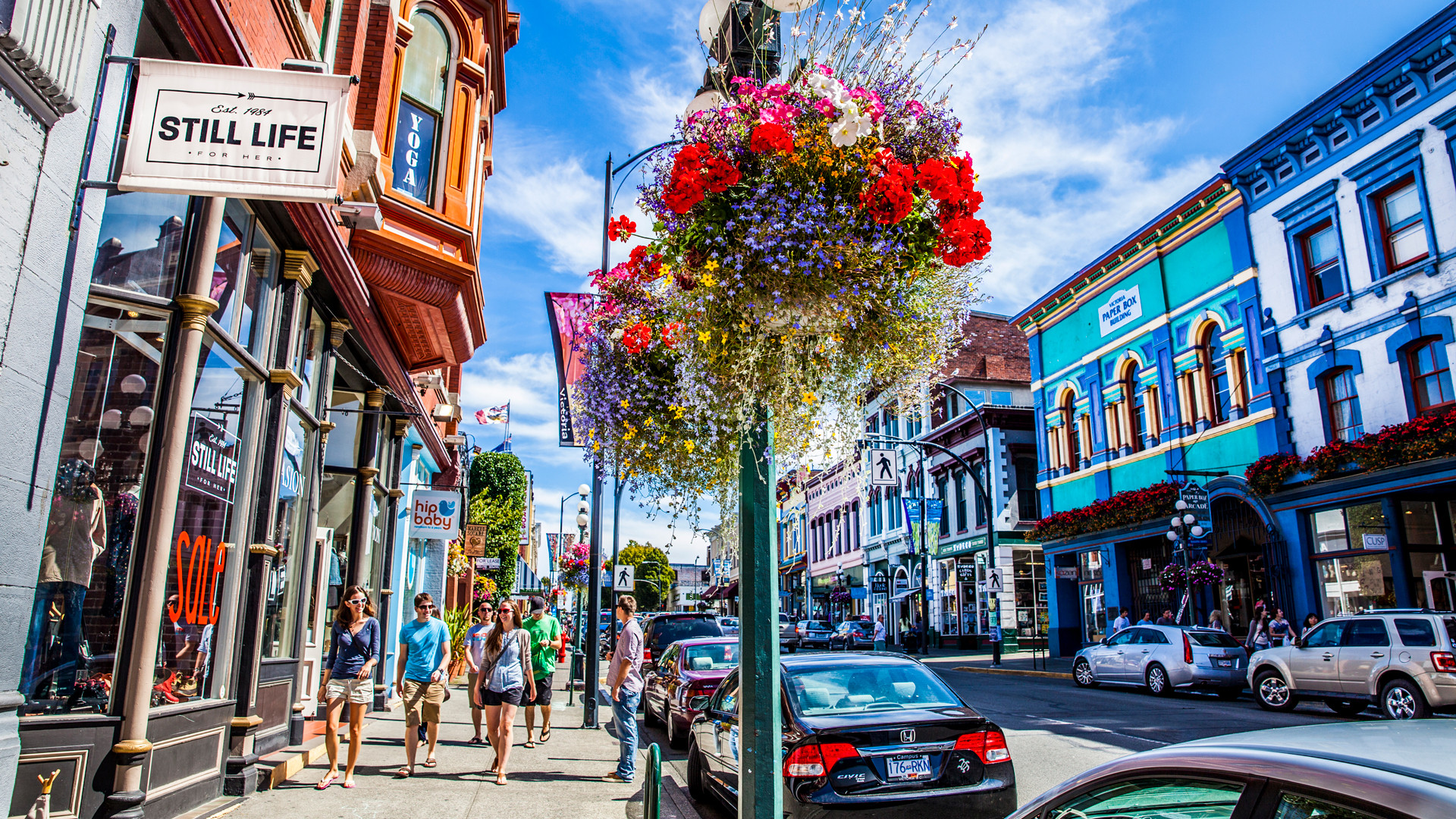 Restaurants in Victoria, B.C. plus hotels, activities and more | Shopping on Lower Johnson Street