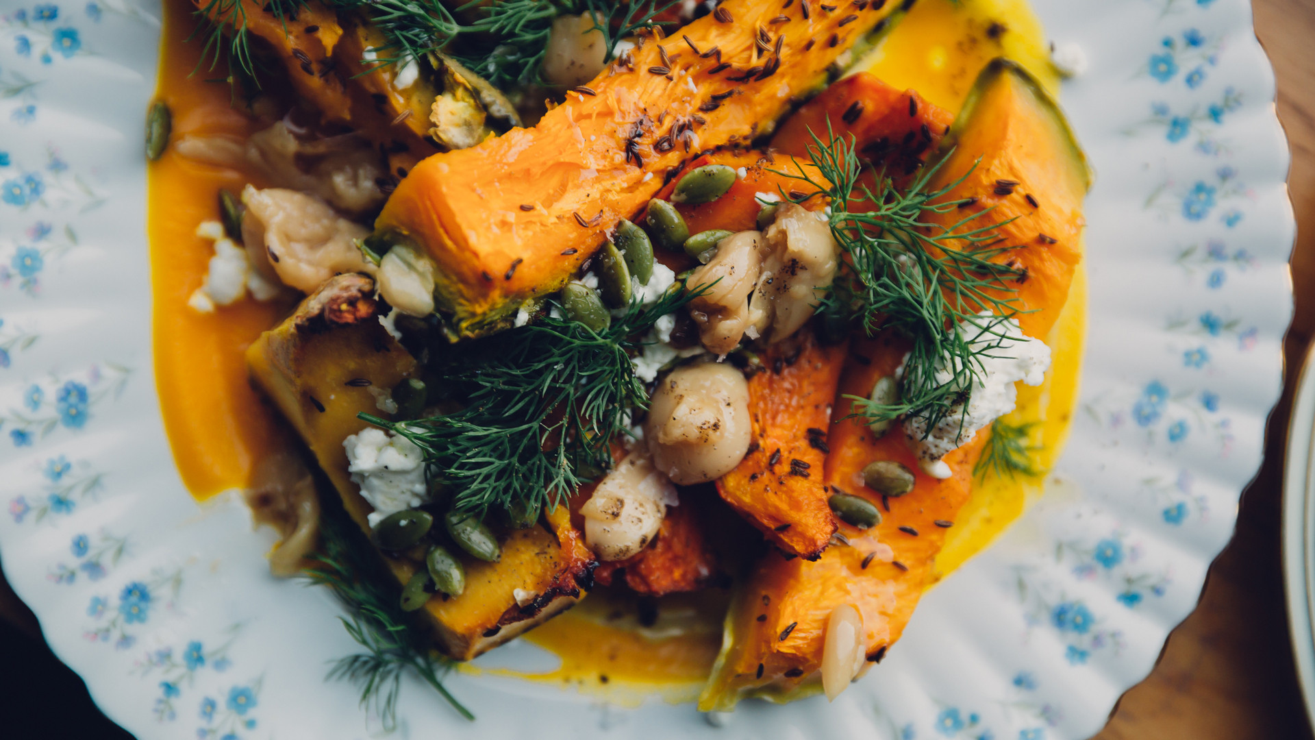 Restaurants in Victoria, B.C. plus hotels, activities and more | a pumpkin dish at Stage Wine Bar