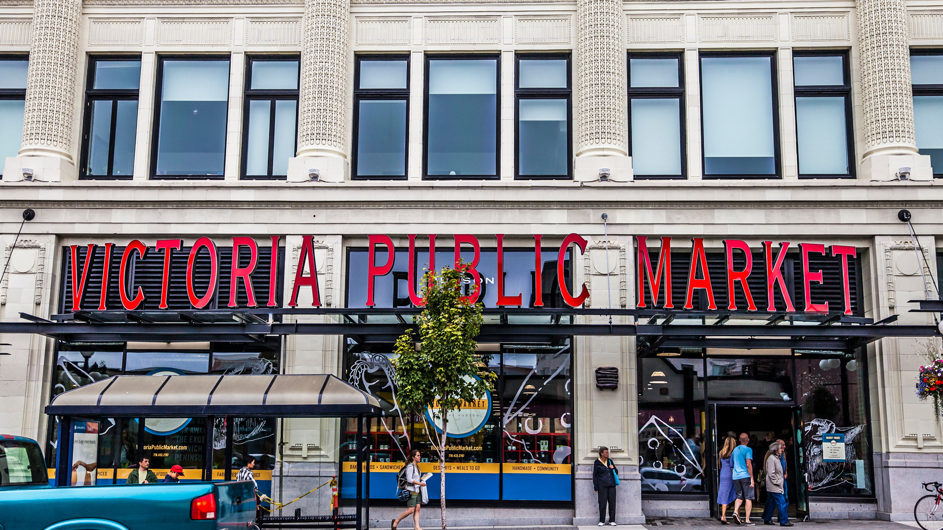 Restaurants in Victoria, B.C. plus hotels, activities and more | the Victoria Public Market | A Taste of Victoria Food Tours