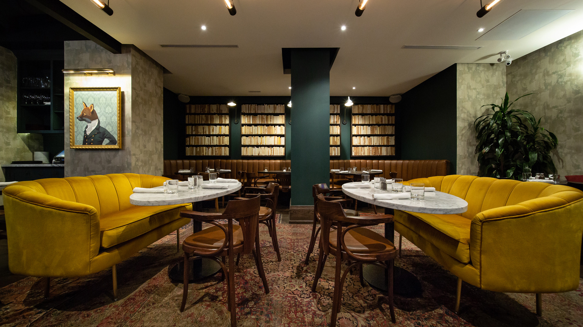 Hotel review: the Kimpton Saint George hotel, Toronto | The Fortunate Fox bar and restaurant