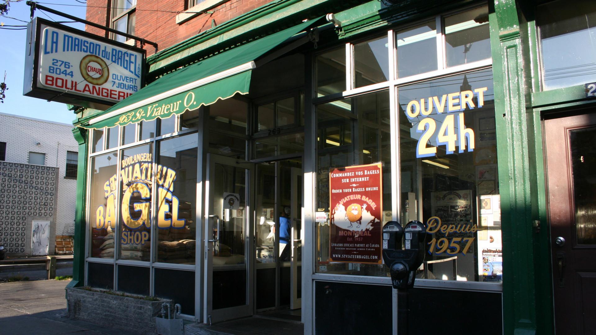 Montreal bagels | St-Viateur Bagel shop